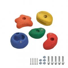 5 Appigli colorati per arrampicata 90 mm