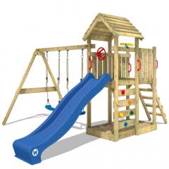 Parco giochi Wickey MultiFlyer con tetto in legno