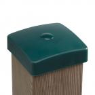 Cappucci in plastica per montante a sezione quadrata